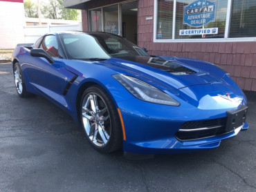 2015 CHEVROLET CORVETTE STINGRAY Z51 3LT Coupe - 6114 - Image 1